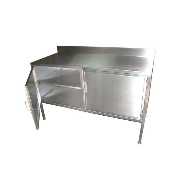 Mueble multiuso metal clinic muebles clinicos en acero for Muebles de acero inoxidable